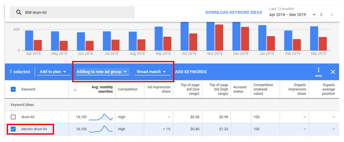 google keyword planner tool filtering keywords.PNG