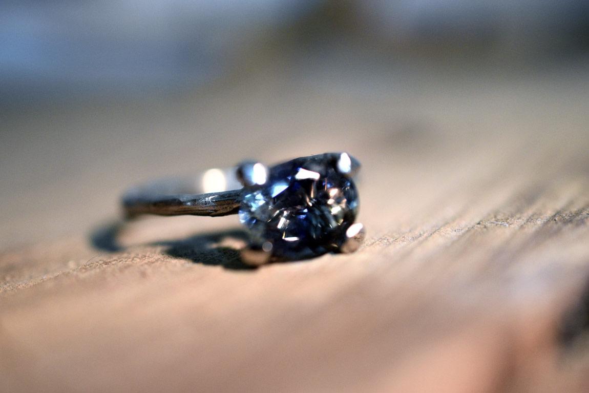 Takjes verlovingsring / Twig engagement ring