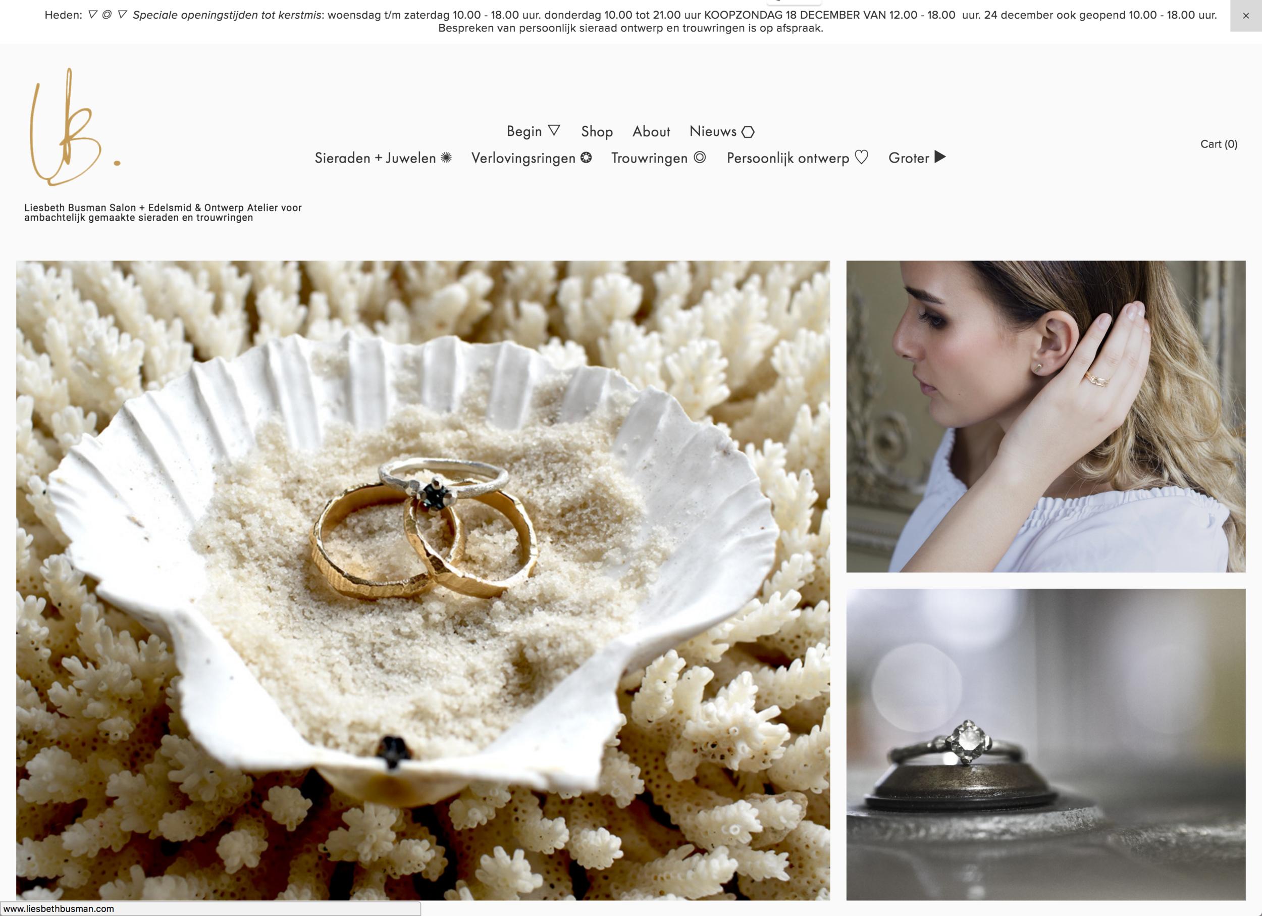 nieuwe website online handmade dutch design sieraden kopen