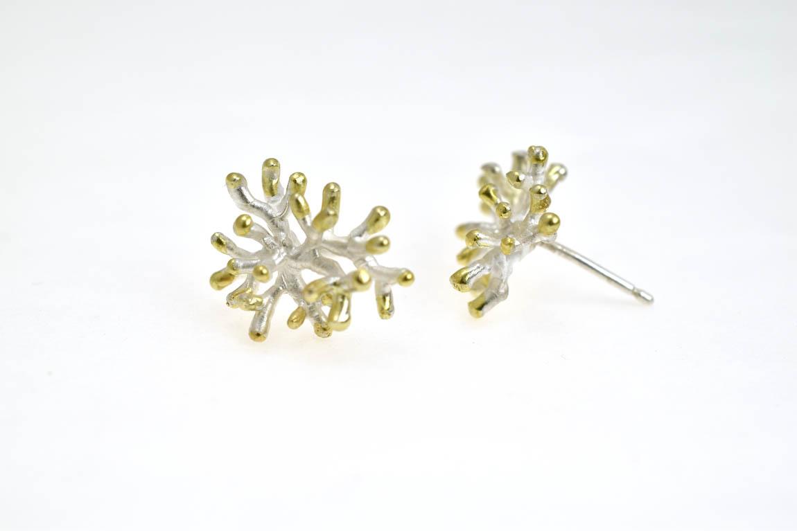 corals-earpins-silver-18krtgold kopie.jpg