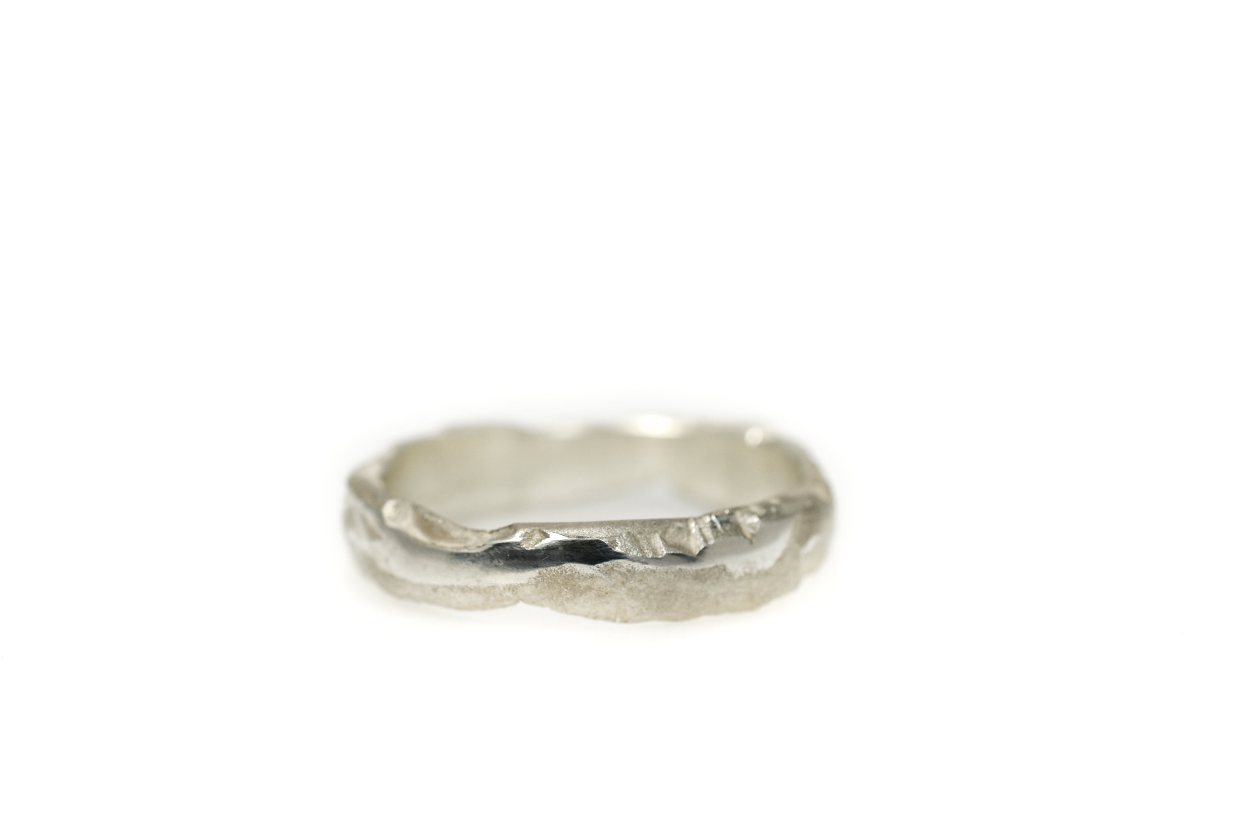 Earth canyon wave lady ring in silver €277