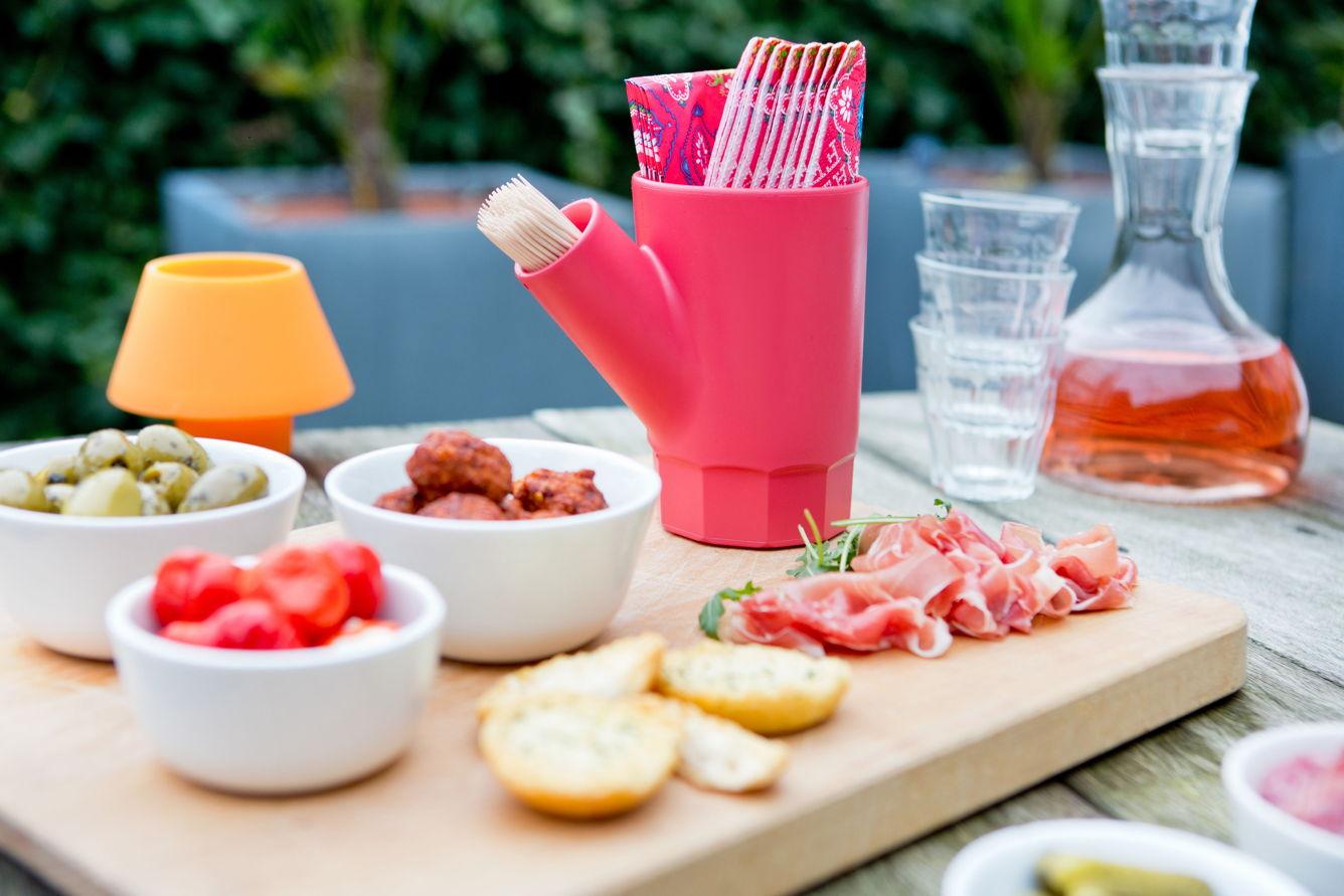 Royal VKB Napkin Cup houder voor servetten en tandenstokers