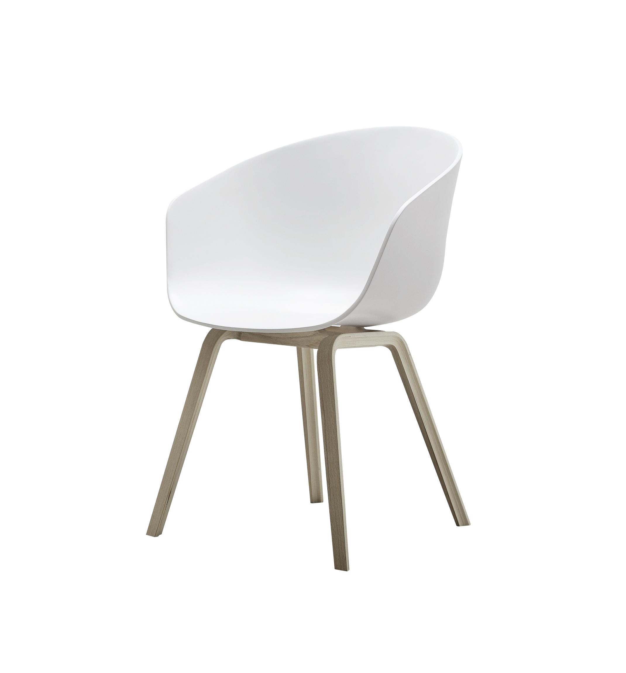Hay stoel wit/eik