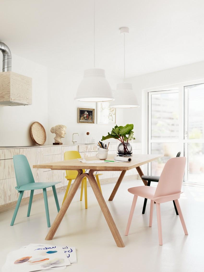 Muuto tafels en stoelen