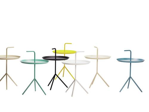 Hay DLM tafeltjes in twee formaten en verschillende kleuren