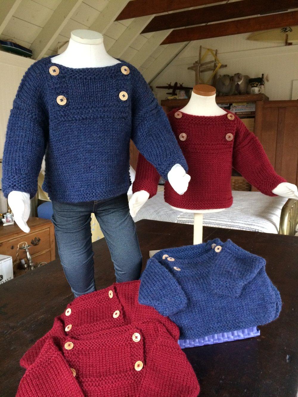 Nantucket Baby Sweater-Baby Girl