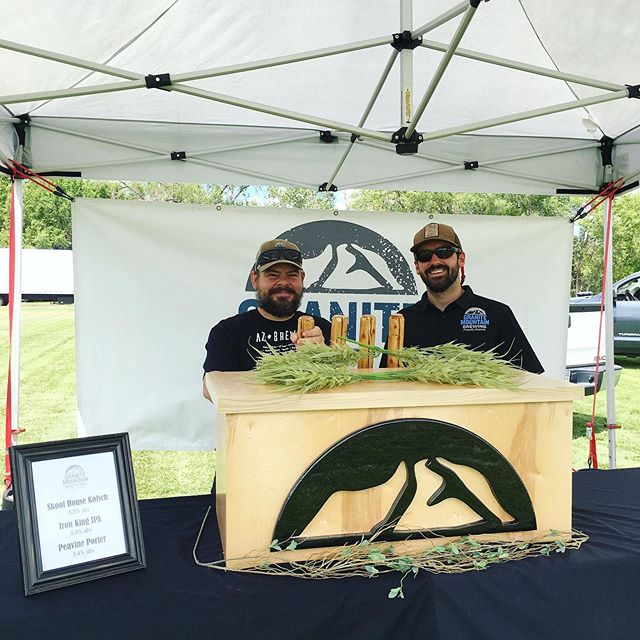Happy Festival Day! Mile High Brew Fest today at Mile High Middle School. Weather looks great and the beer will be flowing! Pouring for the public at 4 and tickets are available at the gate. See you soon! #Prescott #DrinkLocal