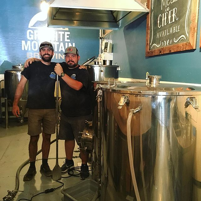 Happy Brew Day! Our brew crew works hard every Monday and Tuesday to make sure we have our favorite tasty treat! #craftbeer 🍺