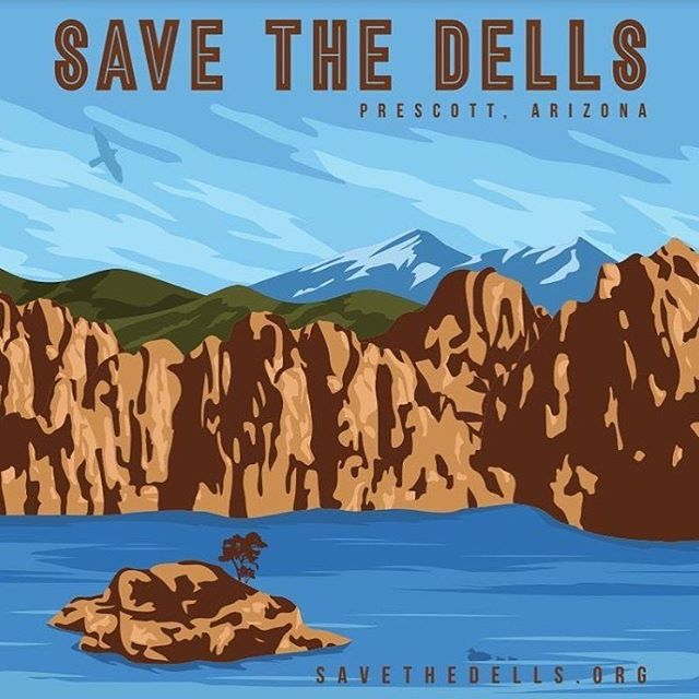Come and see us tonight (Tuesday, 10/15) for the @savethedells fundraiser! A great chance to learn more about the efforts to save the dells of Prescott, AZ. And you can help! A portion of every drink sold will go towards these efforts. Cheers! 🍻
