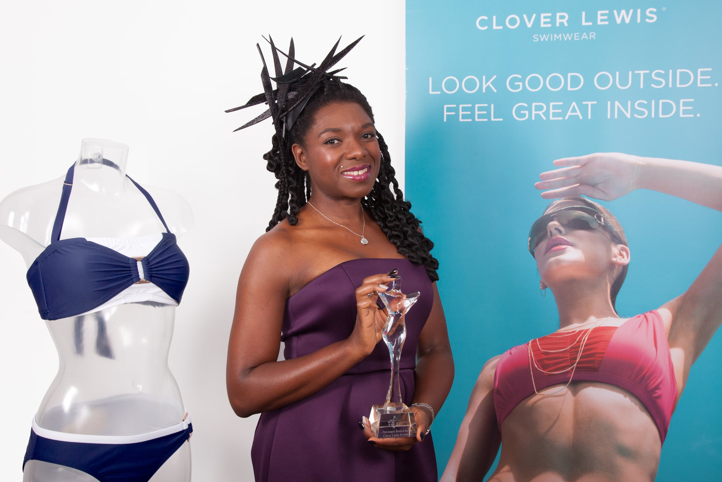 Post Surgery brand of the year award - Clover Lewis
