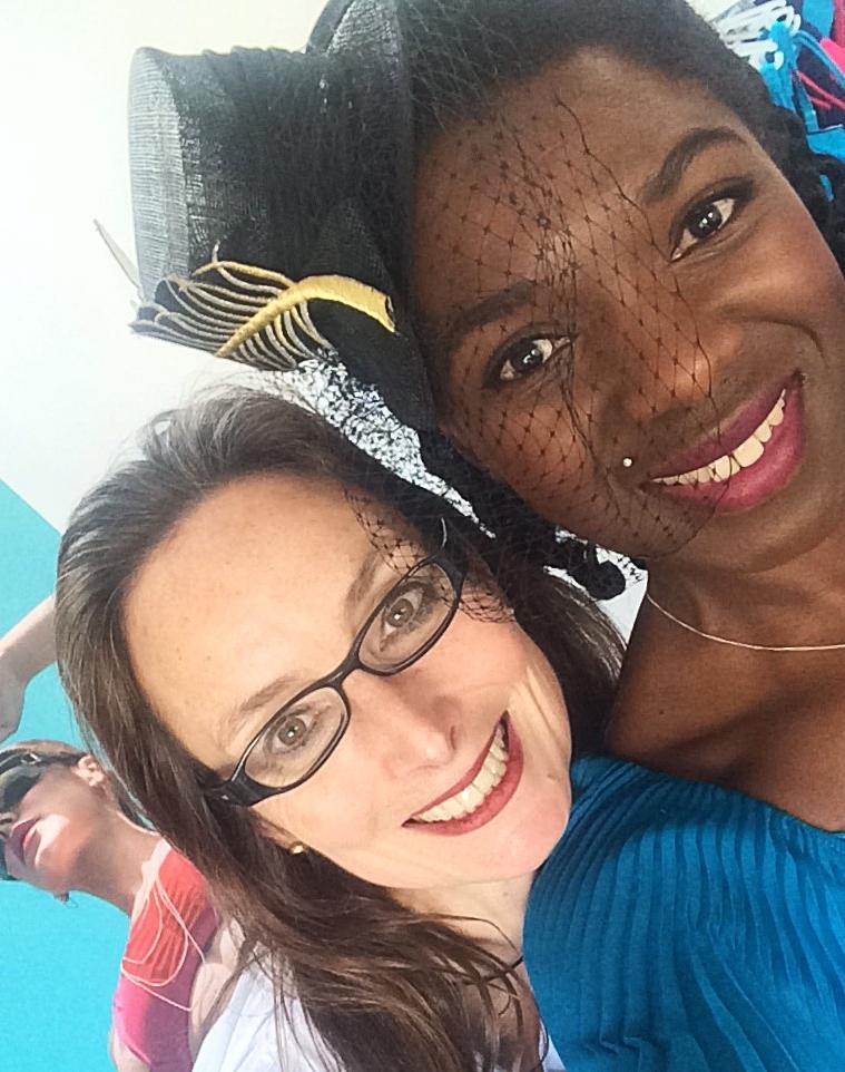 Karen from Loose Debra and Clover in the studio!