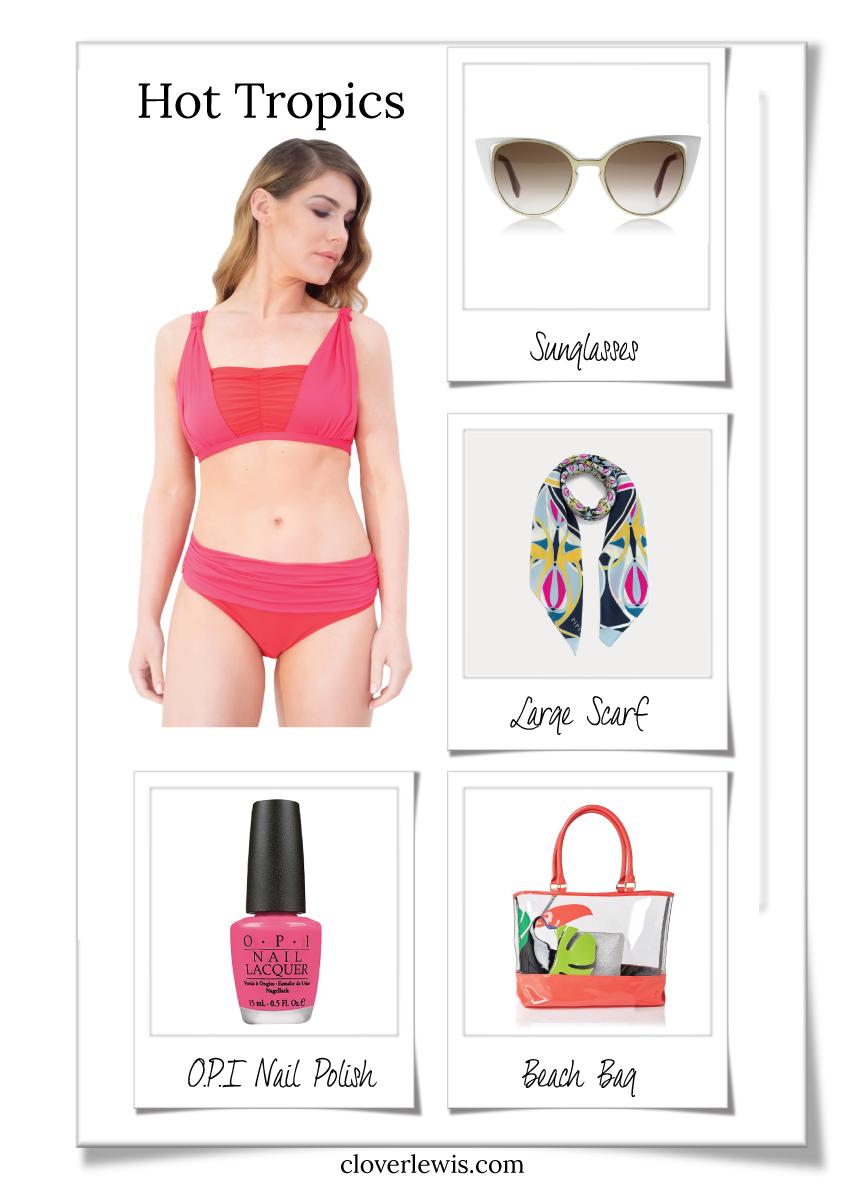 Bikini-Post-Mastectomy-Pink-Coral-Red-Pocketed-Gathered-Front.jpg