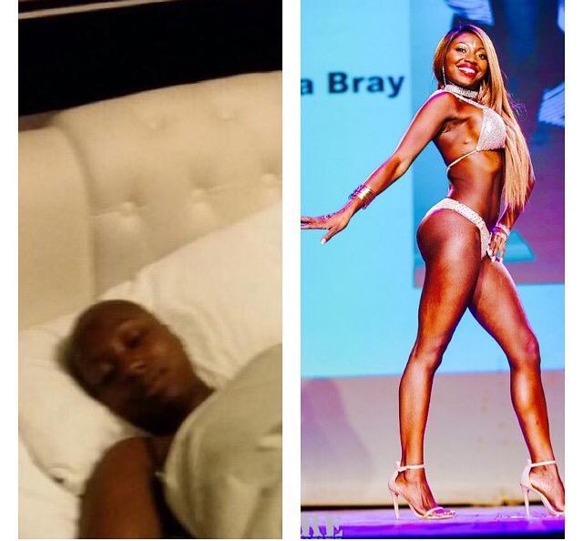 Christina Bray-having-chemo-winner-competition.jpg