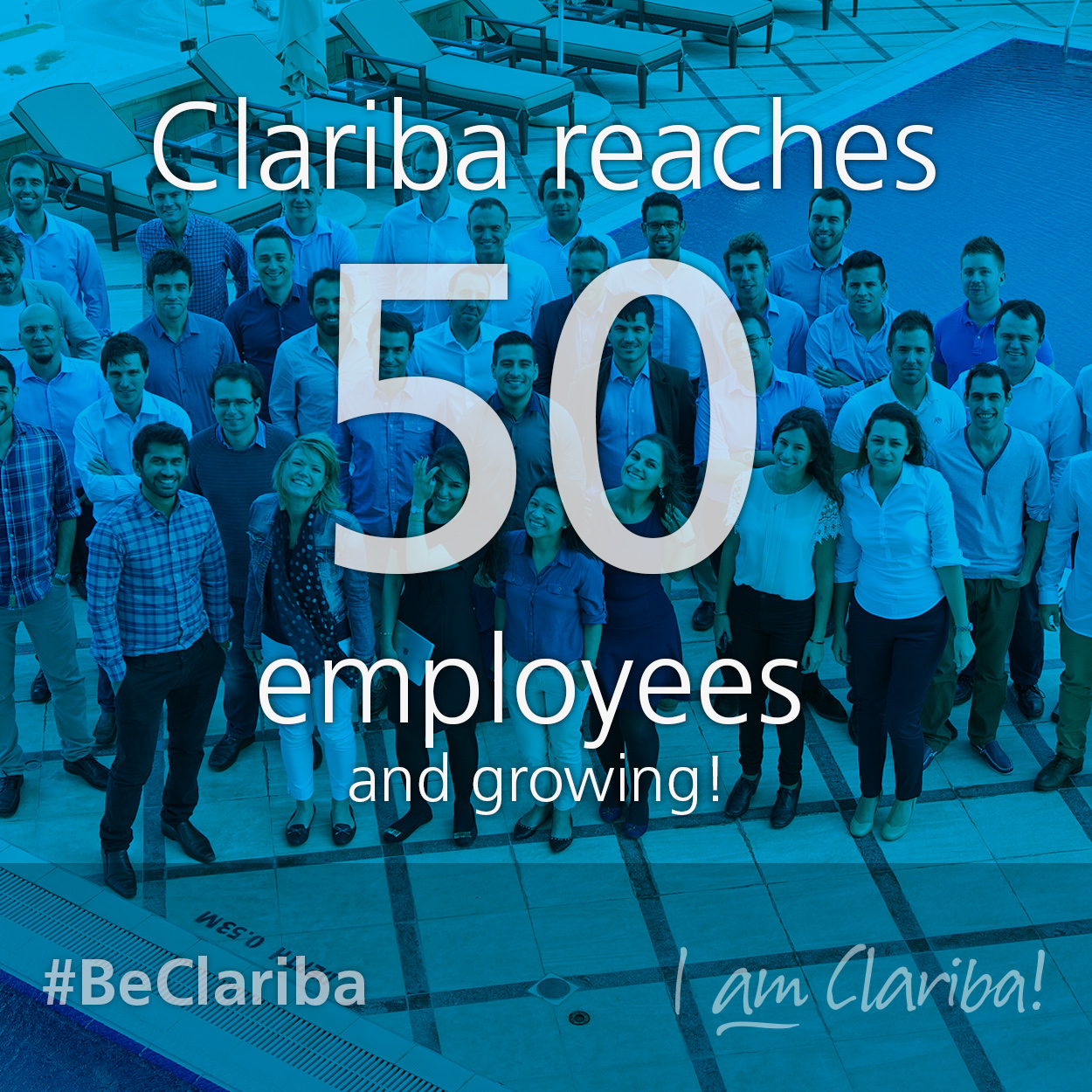 Clariba, SAP Gold partner, reaches 50 employees across Europe and Middle East.