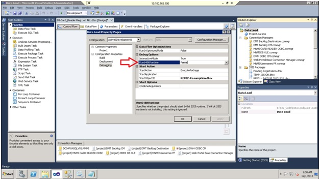 ETL with Microsoft SSIS: First steps and common issues