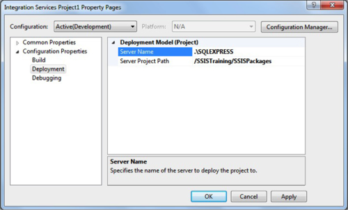 Project Deployment in SQL Server Integration Services 2012 - Clariba