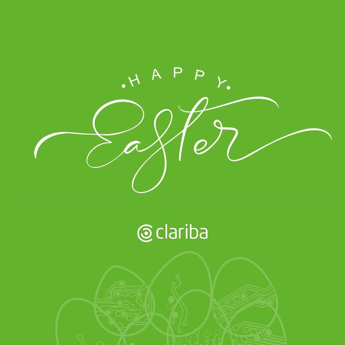 Clariba team wishes you and your family Happy Easter!🐰 #easter #easter2021 #happyeaster