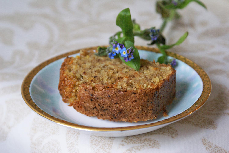 cake sans gluten orange