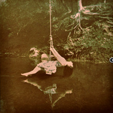 Girl on a Swing II