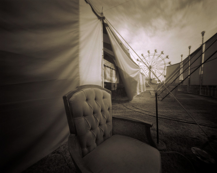 RIPLEY'S BELIEVE IT OR NOT  , from  The Midway  series; platinum/palladium, pinhole; Limited Edition 3/10