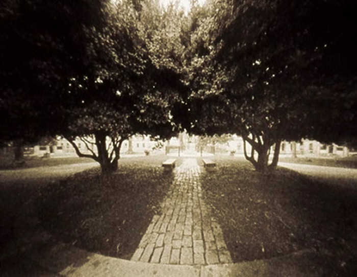 CAPITOL GROUNDS,   from the  Landscape  series; platinum/palladium, pinhole. Limited edition 3/10