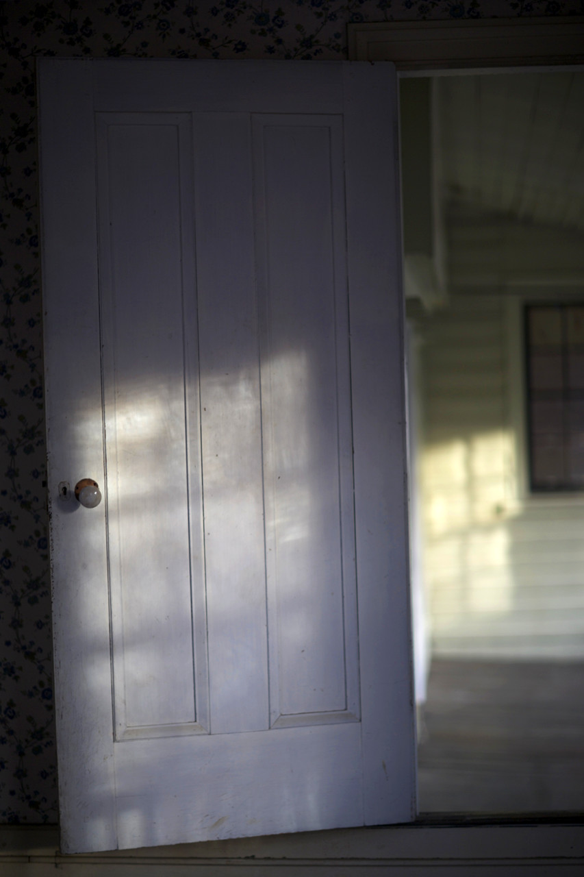 SHADOWED DOOR  , from  Interiors .  Pigment print