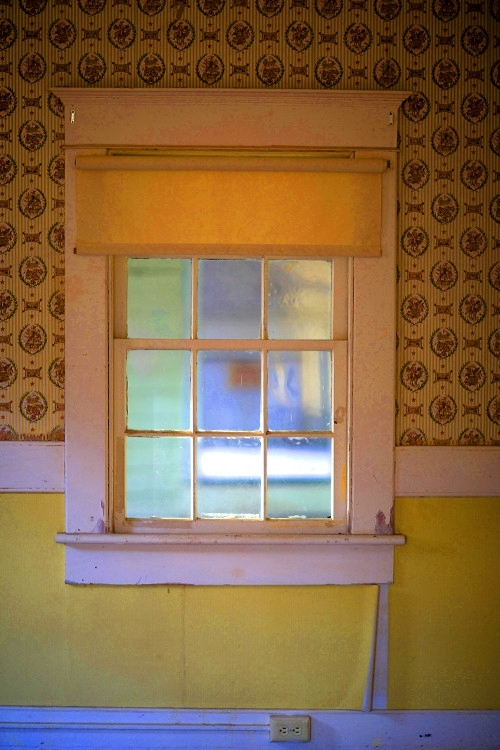 YELLOW ROOM,   from  Interiors.   Pigment print.