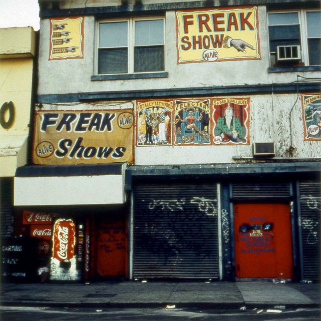 Freak Show  , from the Tickets to Dreamland series. 20x20 Chromogenic print. Limited Edition 2/10