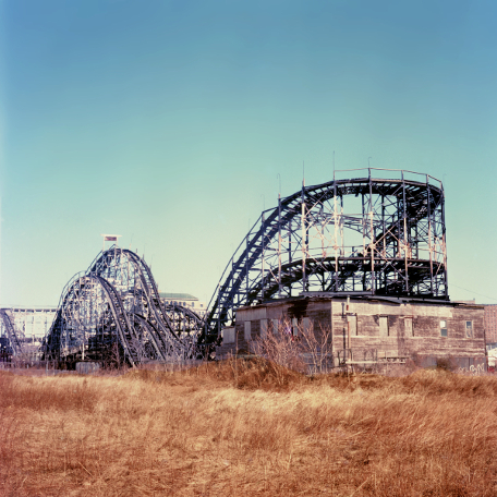 Thunderbolt  , from the  Tickets to Dreamland  series.  20x20 Chromogenic print.  Limited Edition 4/10