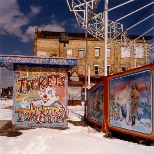Tickets to Dreamland  , from the  Tickets to Dreamland  series.  20x20 Chromogenic print.  Limited Edition 4/10