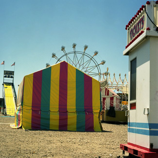 Tickets, Coney Island  , from  The Tickets to Dreamland  series. 20x20 Chromogenic print. Limited Edition 2/10