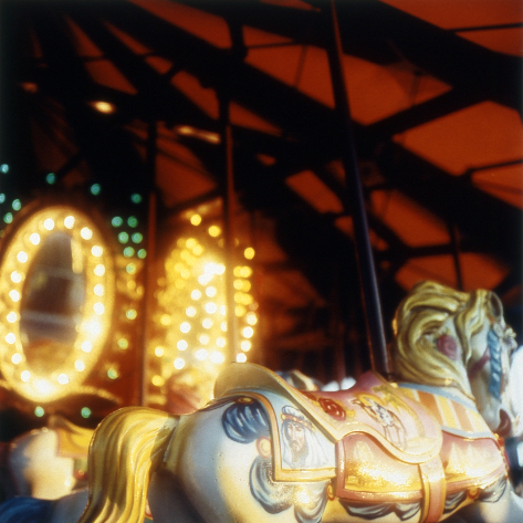 Evening Carousel,  from the  Tickets to Dreamland  series.  20x20 Chromogenic print.  Limited Edition 4/10.