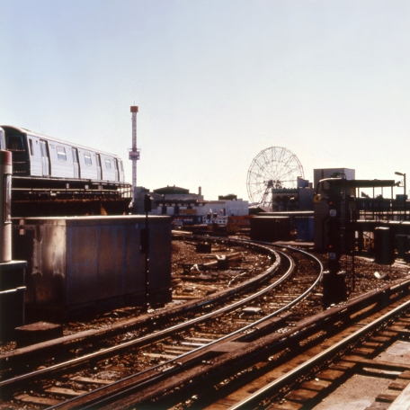 Coney Island RR #2,  from  Tickets to Dreamland  series. Chromogenic print. Limited Edition 2/10