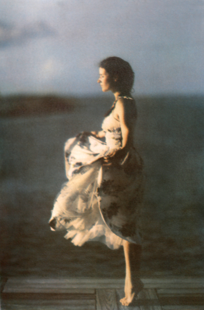 A Moment , 2014, from the  Figurative s eries .  Tri-color gum bichromate. Limited Edition 3/10
