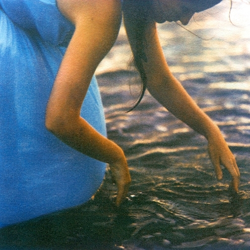 Wading  ,   from the  Figurative  series. Tri-color gum bichromate; Limited Edition 2/10. 2015