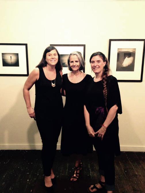 ©Cornelius Art Center L to R: Jen Crickenberger; Diana Bloomfield; Aspen Hochhalter