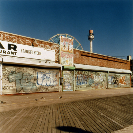 Souveniers  , from the  Tickets to Dreamland  series. Chromogenic print.