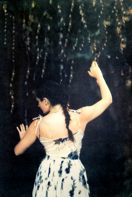 Among the Trees , from the  Figurative  series. Tri-color gum bichromate print. 3/10 2015