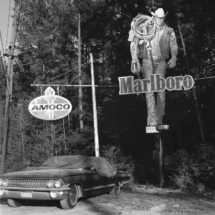 Marlboro Man , from the  Southland  series.  Limited Edition 2/5.  Pigment print