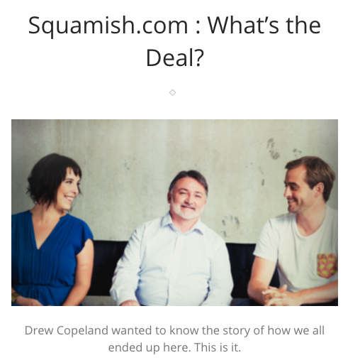 Squamish.com : What's the Deal?