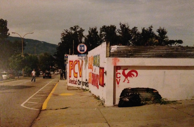Election Graffiti, Mérida Venezuela, 2010