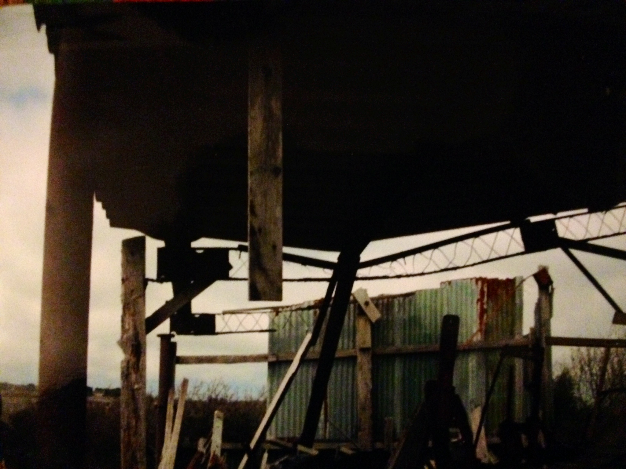 Delapidated Diebenkorn, Cornwall, 2010