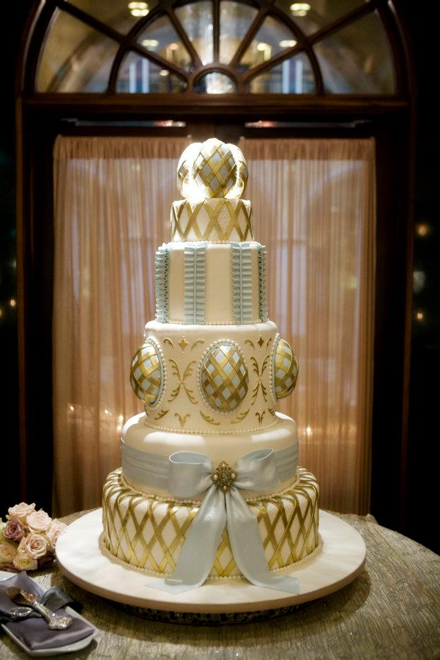 Centerpiece Wedding Cake