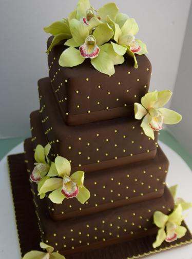 Festive Wedding Cake