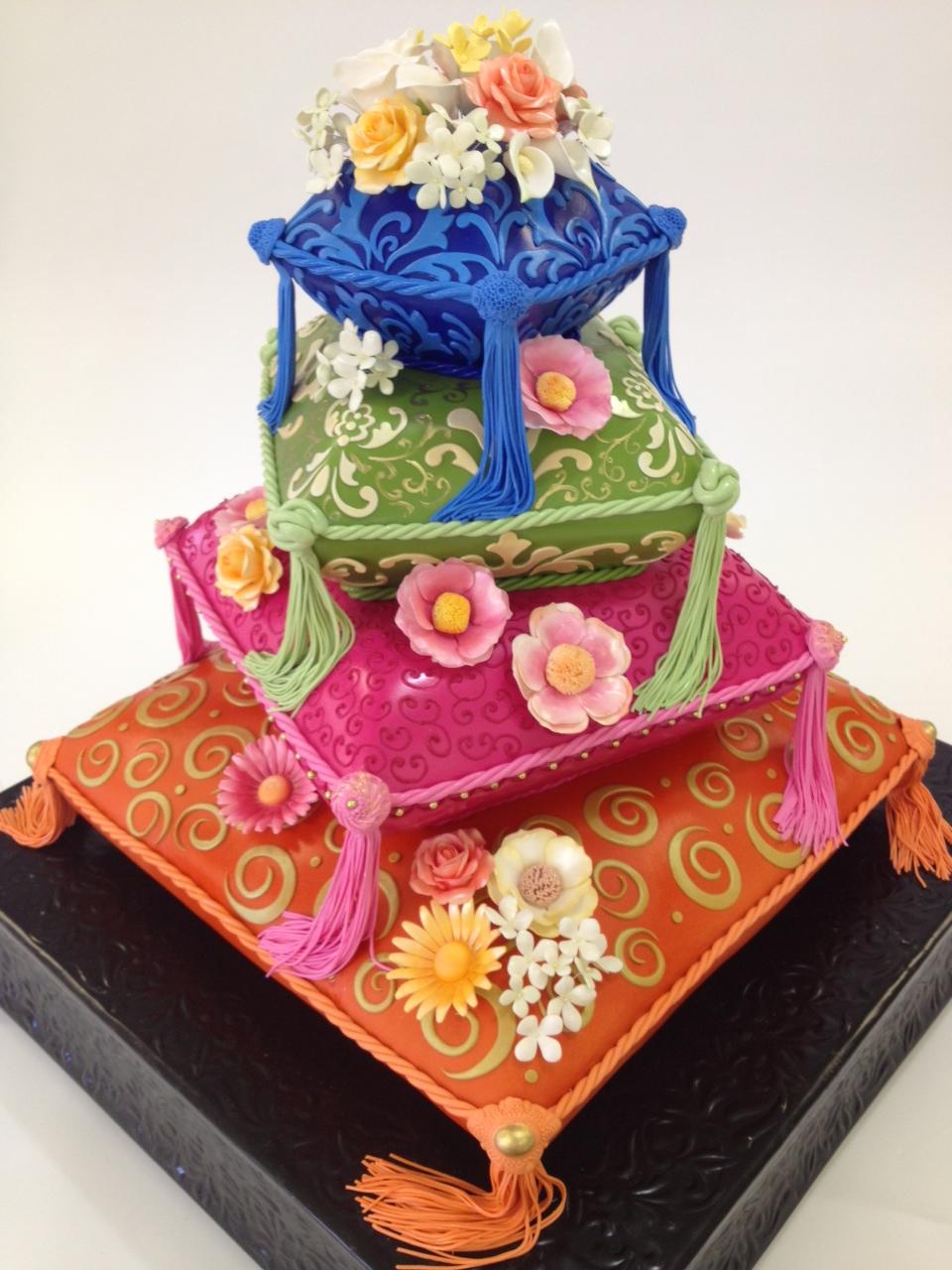 Pillow Wedding Cake