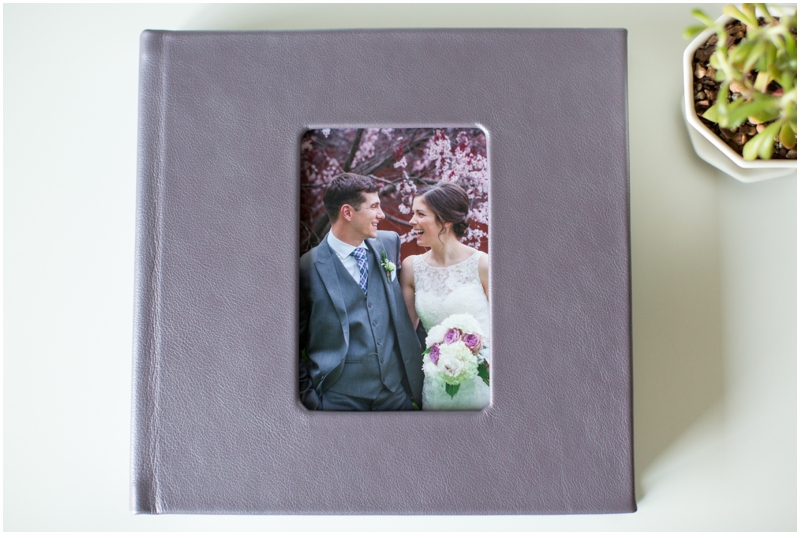 Amethyst album with vertical cameo cover