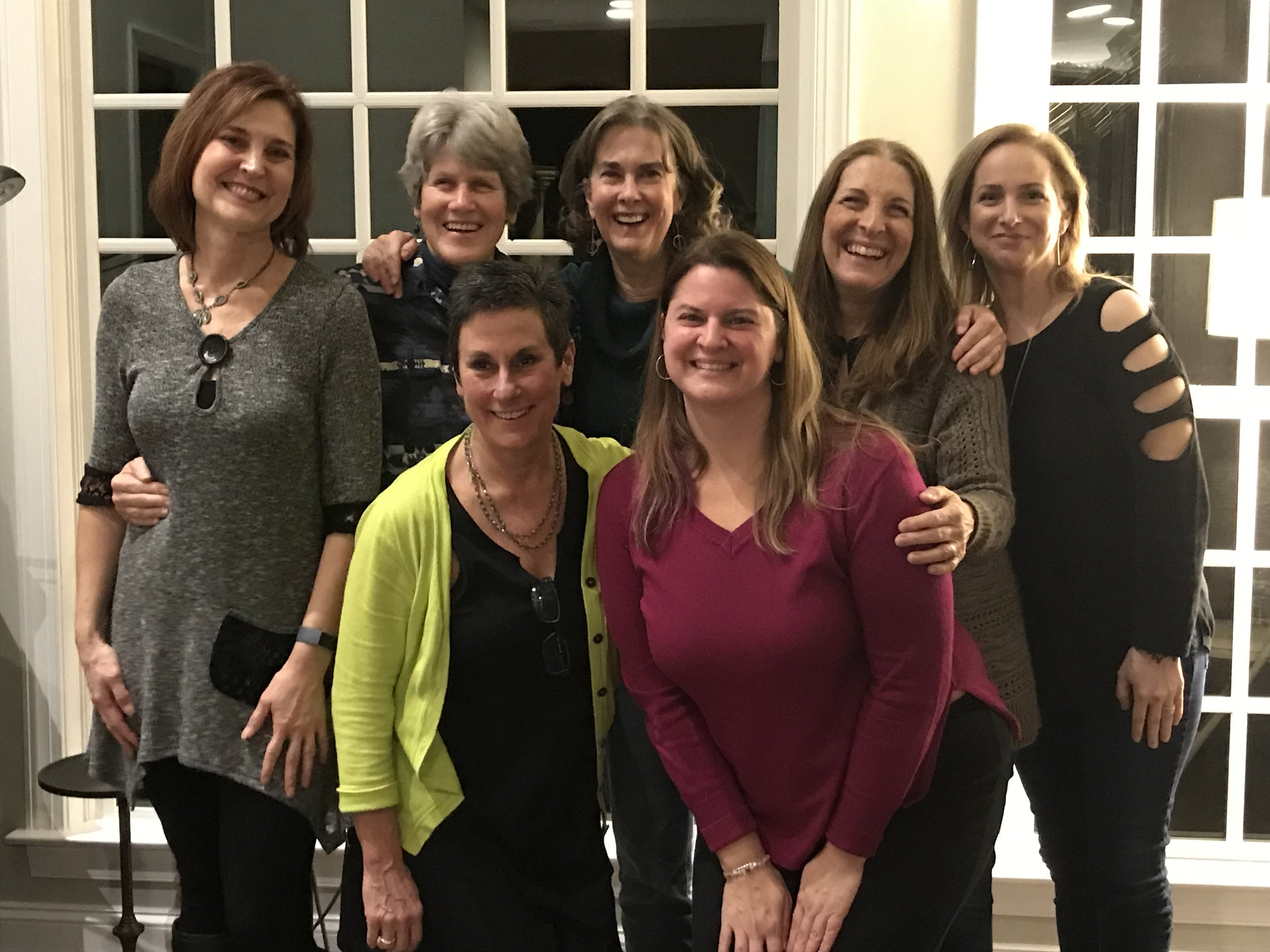 Songwriters, clients, exceptional women… friends.