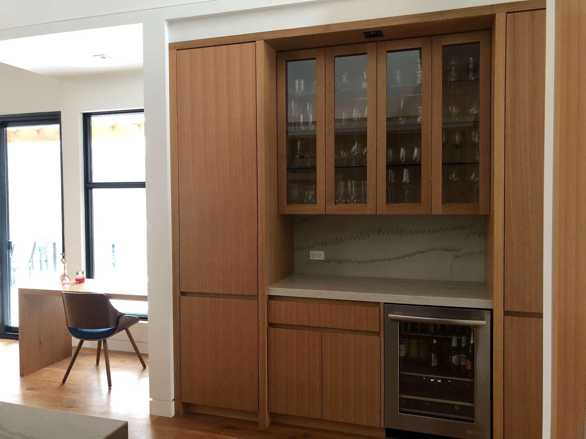 Kitchen Desk, Pantry & Servery