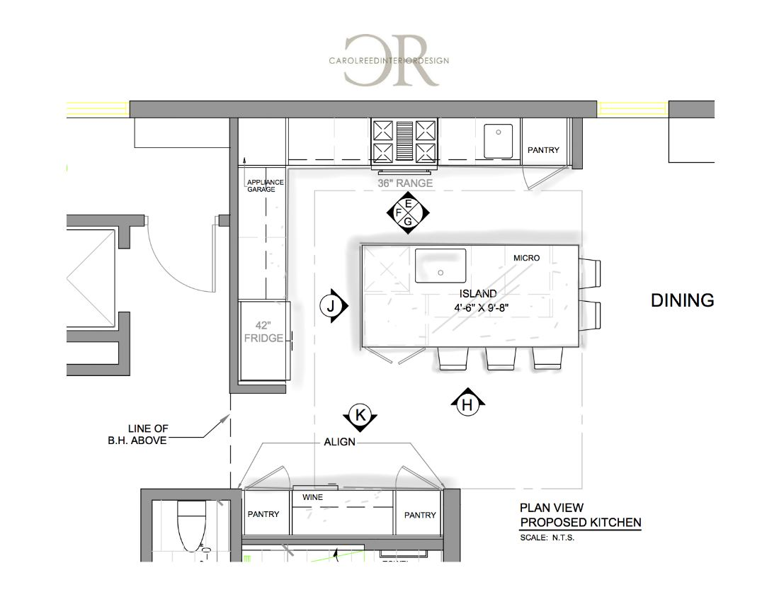 Kitchen Plan - Final