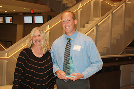 Josh Steenhoek, Jefferson Intermediate School, Pella; Iowa Presidential Award Nominee